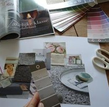 Workshop interieur moodboard Debora Wolleswinkel Renswoude Utrecht